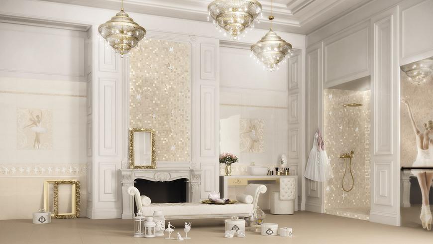 Perfect fabulous al nostro showroom potrai toccare con - Ceramiche bagno classico ...