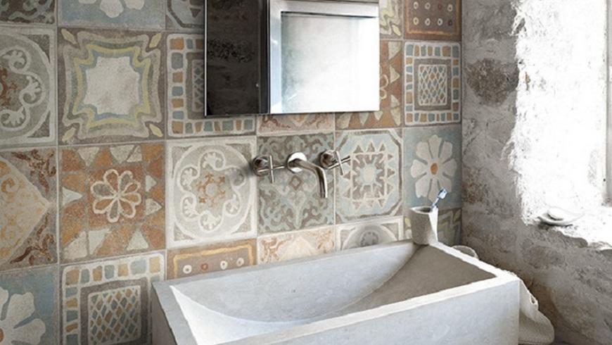 Rustico - Bagno casa di campagna ...